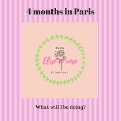 4 months in Paris