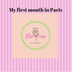 My first month in Paris